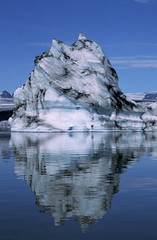 Glacier Ice (Ian Hayhurst) Tags: blue lake reflection ice iceland glacier jokulsarlon imhayhurst
