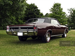 1967 Converible Chevelle Super Sport (Rock Steady Images) Tags: ontario canada car ss convertible chevelle chevy restoration 500views 50views 67 alliston 25views bypaulchambers rocksteadyimages