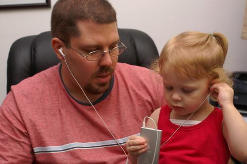 iPod Listening, © Steve Webel