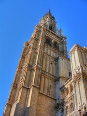 Torre de la Catedral de Toledo - HDR