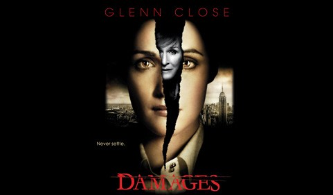 """Damages"" promo poster"