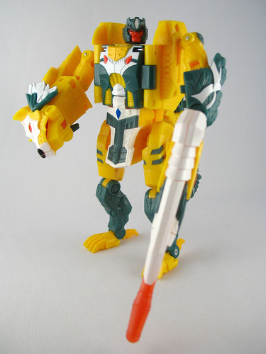 Botcon 2007 Weirdwolf (bot mode)