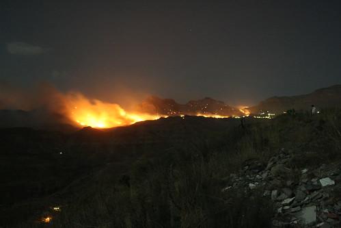 Fire in Gran Canaria