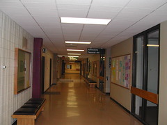 Hall, Cofrin Library to Theater Hall 7-20-07 (UWGB_SS_Remodel) Tags: hallways uwgb