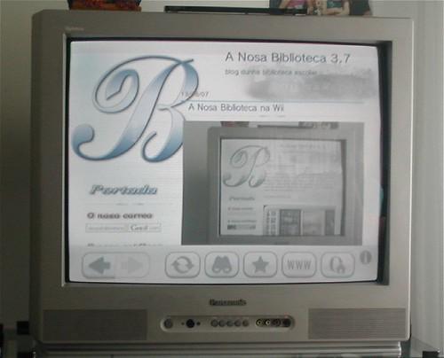 A Nosa Biblioteca na Wii
