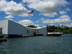 USS Arizona Memorial, Pearl Harbor, Hawaiian I...