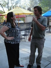 Hollie talking With Luke Wilson (.Hollie.) Tags: celebrity luke hollywood wilson steven owen hollie