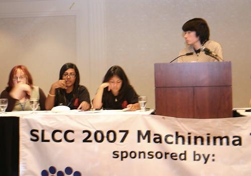 Teen Machinima Panel at SLCC 2007