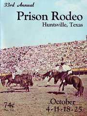1964 Texas Prison Rodeo (Texas.713) Tags: show carnival fun october cowboy texas huntsville stock prison jail program rodeo annual cowgirl 2008 livestock 74 414 park inmate 1963 show hlsr fat houston rodeo 33nd reliant