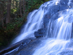 Chiwaukum Creek Waterfall (Mike Dole) Tags: waterfall washington cascades pacificnorthwest alpinelakeswilderness chiwaukumcreek