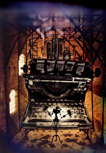 Scuzz Typewriter