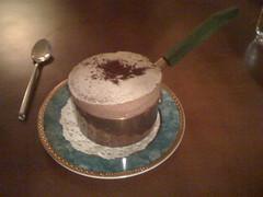 小銅鍋咖啡館 - 05 舒芙蕾(巧克力)