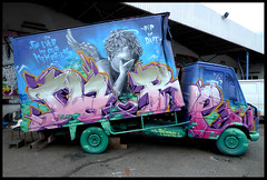 Rip DARE by RESO (LCF-VMD) (Thias (-)) Tags: terrain streetart wall angel truck painting graffiti mural ange rip spray urbanart camion painter dare graff toulouse aerosol bombing spraycanart pgc thias lcf reso photograff resone frenchgraff resoner photograffcollectif