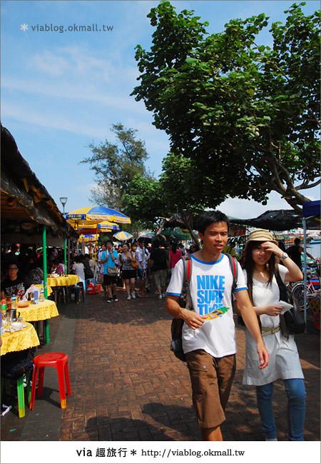【2010香港節慶年 】香港節慶盛事~長洲太平清醮包山節(上)15