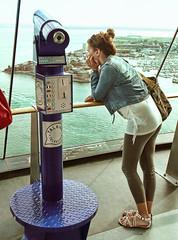high level boredom (cyberchrome) Tags: panorama seascape photoshop hampshire portsmouth spinnakertower gunwharfquays panasonicdmctz3