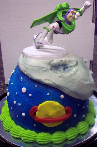 Petite Buzz Lightyear Cake from Toy Story