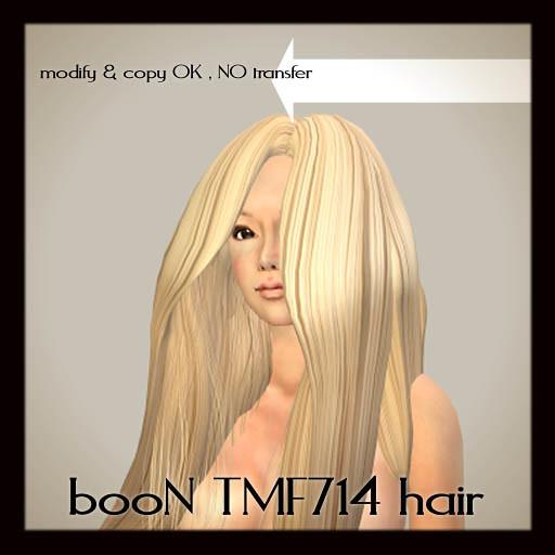 booN tmf714hair