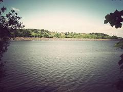 Reservoir (danielleyc) Tags: summer nature sunshine countryside walk sunny lancashire walkies colne canonixus95is danielleyc