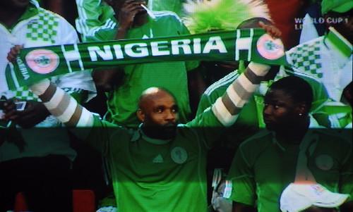 World Cup 2010 Argentina V Nigeria