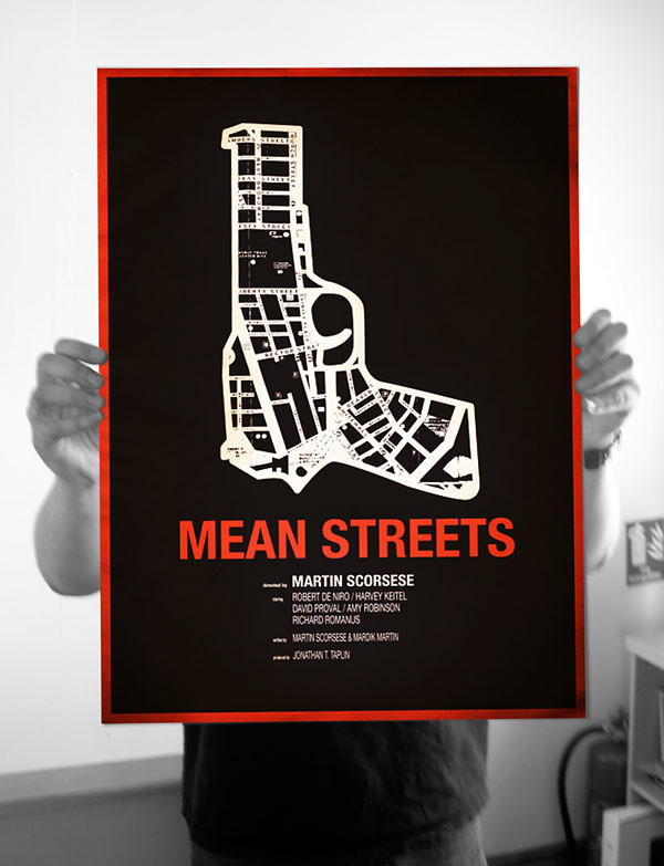 4702271175 623531e404 b Mean Streets Screen Print