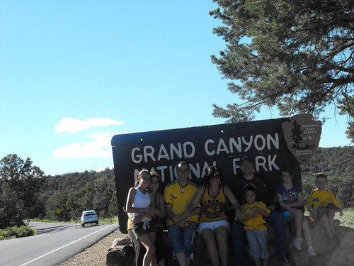 Entrance to Grand Canyon