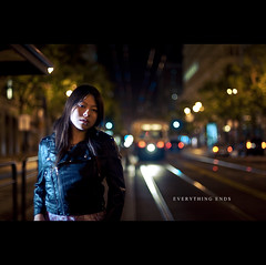 Meet Me On The Equinox (zhewen!) Tags: sanfrancisco selfportrait night 50mm bokeh f14 theme marketstreet deathcabforcutie fline d90 everythingends strobist yn460 meetmeontheequinox zhewen