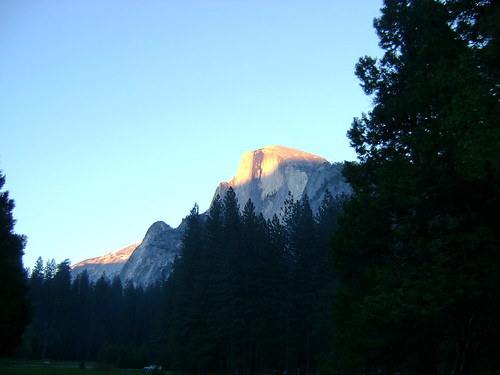 First Evening View of Half Dome