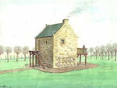 Byres Castle storage tower