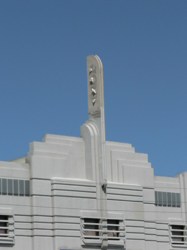 Art Deco Buildings: former Roxy Theatre, Everard Park
