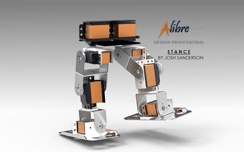 Alibre DIY Robot