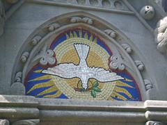 Dove mosaic