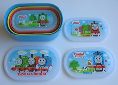 Nested bento boxes: Thomas theTank Engine