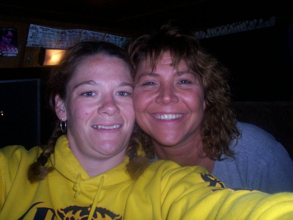 Lisa & I @ the Pocono race