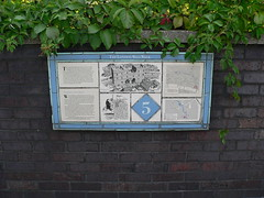 17. The London wall walk panel 5