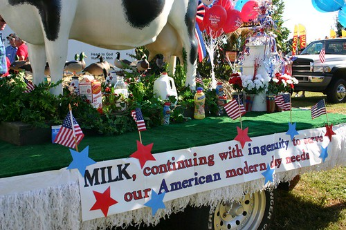 milk display