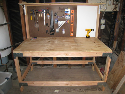 Do It Yourself Home Design: Wooden Do Yourself Workbench Plans PDF Plans