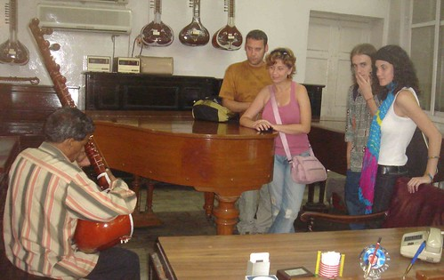 Sitar Concert in a Piano Shop