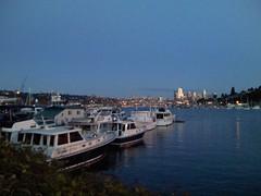 Lake Union dusk