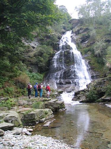 La seconda cascata