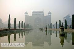 puerta del Taj Mahal