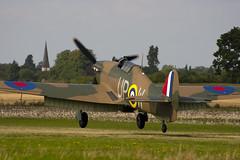G-HUPW - R4118 - G5-92301 - Private - Hawker Hurricane I - 060827 - Little Gransden - Steven Gray - CRW_4678
