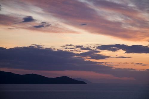 Giglio, Montecristo & Corsica far away
