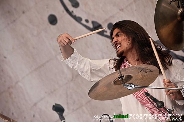 Matan Shmuely - Orphaned Land - Rock Hard Festival 2010 - rhf2010
