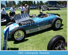 1953  Indianapolis  Roadster (Bob the Real Deal) Tags: show california ca blue car race racecar speed kodak indiana modesto sp fresno vintagecars roadster classicracecars jackturner verycool elmergeorge jimrathman antiqueracecar 1953indianapolisroadster belmontconcours travelontrailer classicsracecar