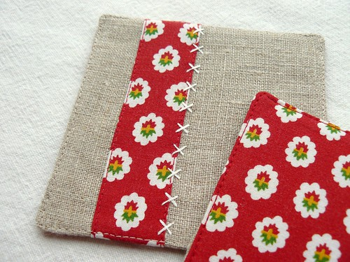 coasters | provence | red