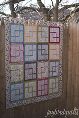 three in a box (Jaybird Quilts) Tags: quilt moda fabric sweetwater jaybird fonsandporter makelife threeinabox