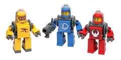 Space Troopers (pasukaru76) Tags: trooper colors soldier lego space moc hardsuit sigma105mm