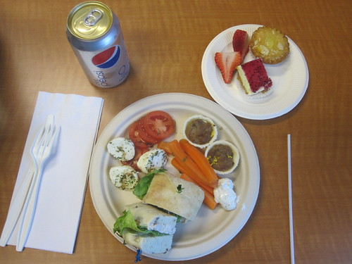 Sherbrooke University buffet lunch - free