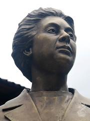 Rosario Castellanos (Comitan de las Flores) Tags: escultura rosario chiapas busto comitan castellanos