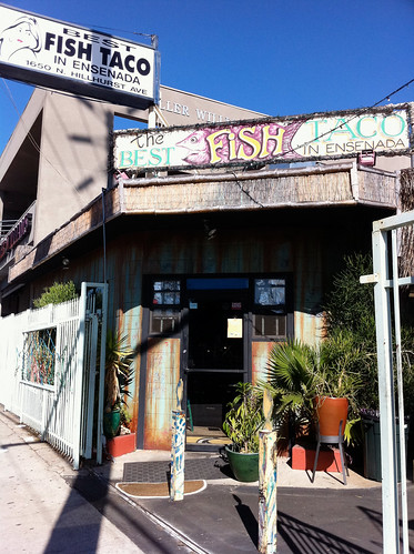 The Best Fish Taco in Ensenada